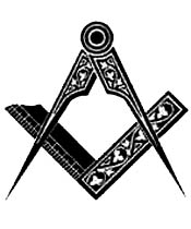 square and compass, freemasonry, S&C