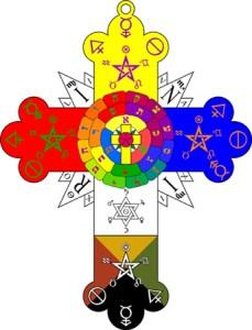 Golden Dawn cross