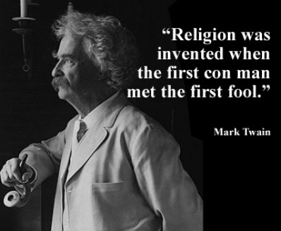 mark twain on religion