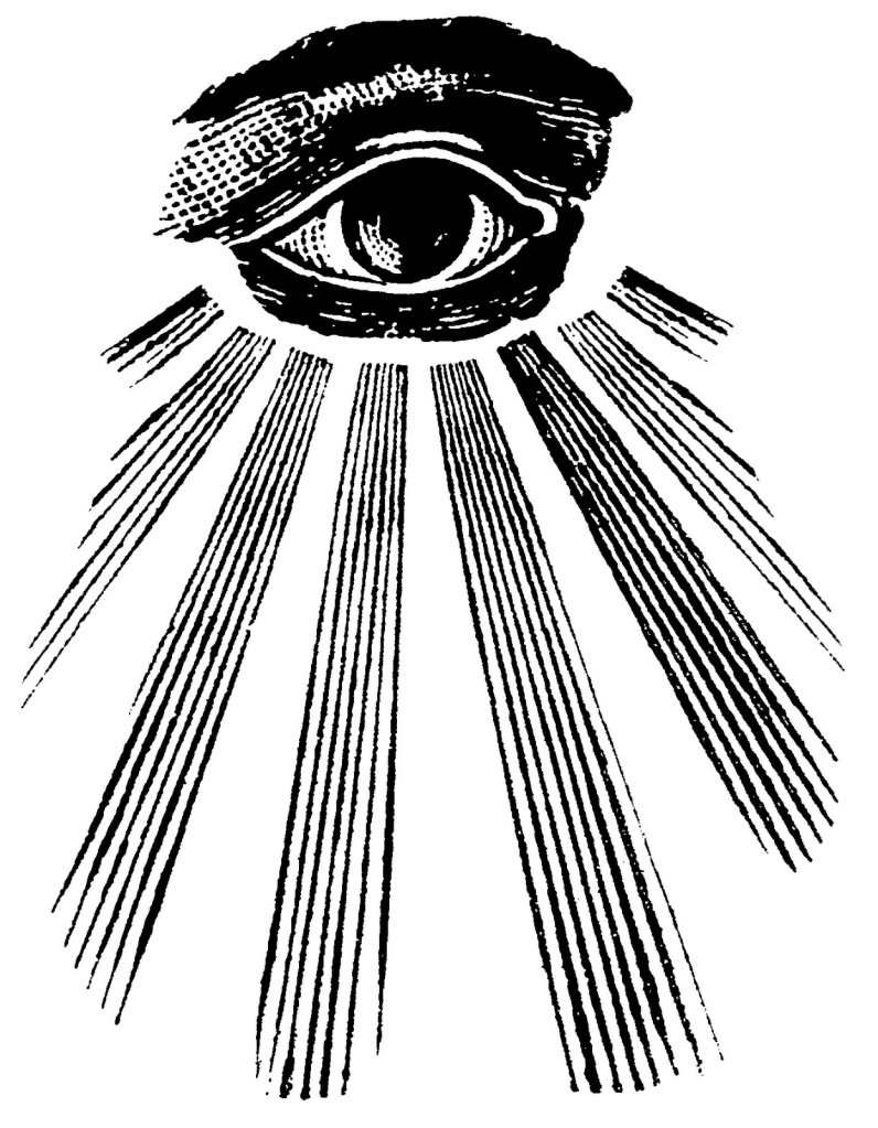 all seeing eye, masonic eye, eye in the sky, gods eye, occult eye