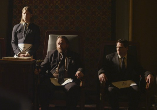 Richard Dutcher as Grand Master Sheldon Lombard