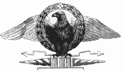 masonic lecture, eagle, apron