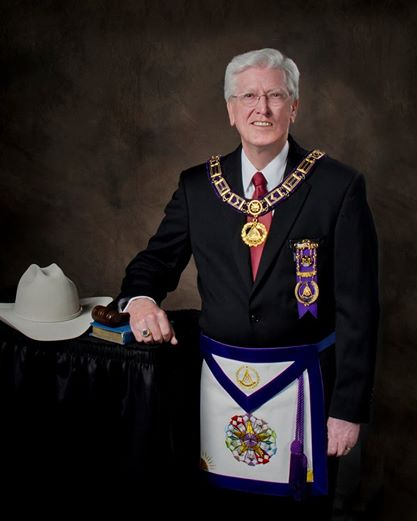 Most Worshipful Jerry L. Martin Grand Lodge of Texas AF & AM