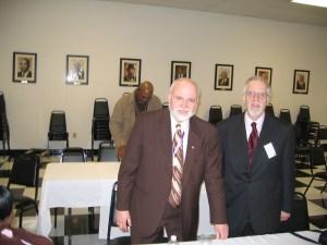 Dr., Rev., Bro. Robert L. Uzzel and Bro. Frederic L. Milliken
