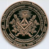 Phoenixmasonry's 10 year anniversary medallion