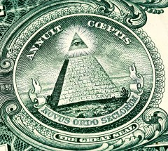 illuminati symbol on american money