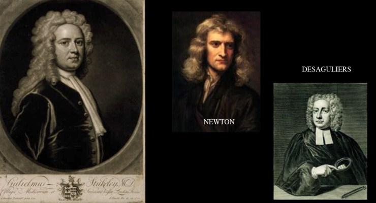 newton, desaguliers