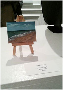 Janet Simpkins, 2x3 inch mini-painting