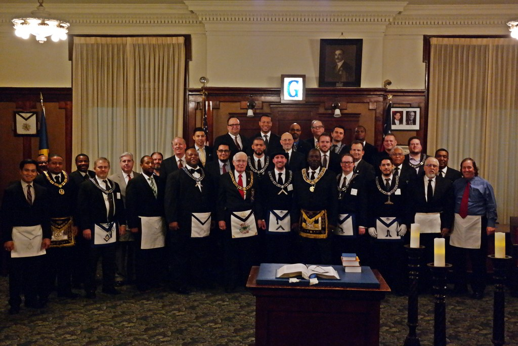 Brethren Who Gathered At Jewel P. Lightfoot Lodge
