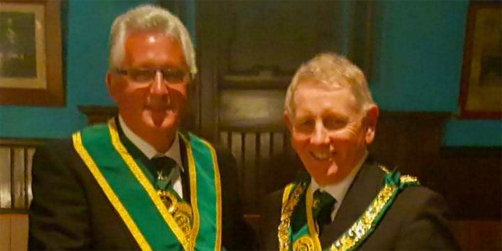 New Provincial Grand Master Bro. Bill Perry | PGL of Lanarkshire Middle Ward
