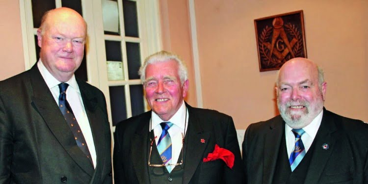 Pro First Grand Principal pays surprise visit to Dinbych Chapter in West Wales