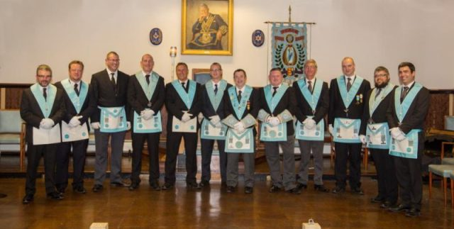 Young Guns in the Lodge of Peace No 322