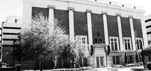 Photo Phoenix Masonic Lodge Monroe Street Phoenix Arizona