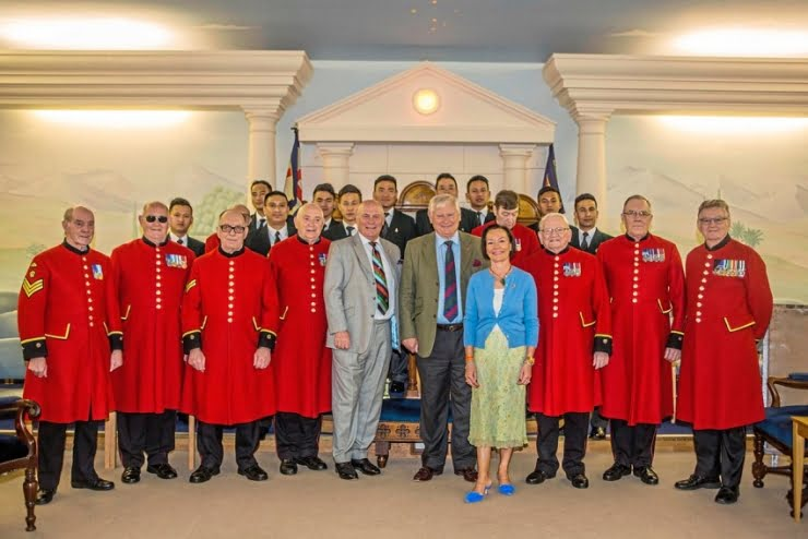 Guernsey Freemasons donation helps Chelsea Pensioners attend Liberation celebrations