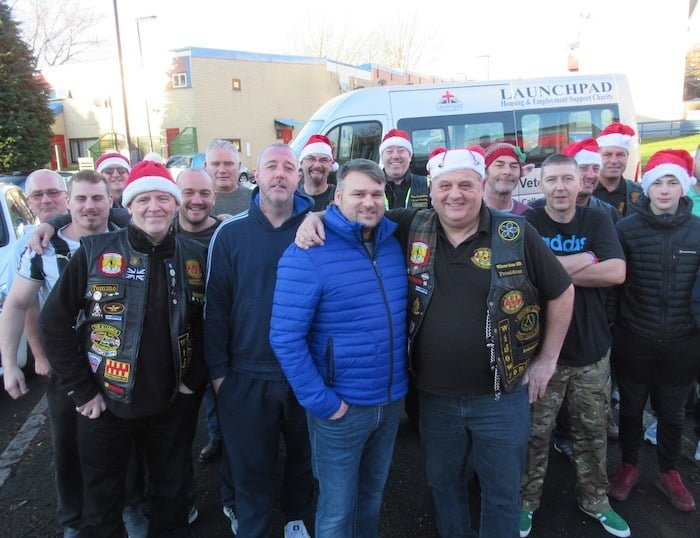 Masonic Bikers Meet Veterans