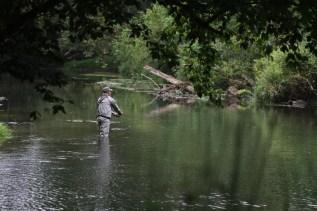 Steve Allen, vet and MassTU member opts for some solitude.