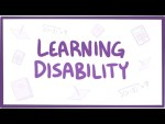 Learning disability - definition, diagnosis, treatment, pathology