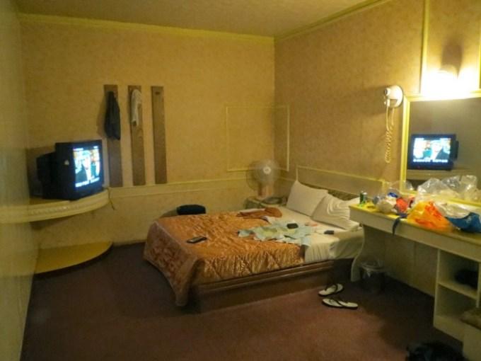 頭份の安ホテル