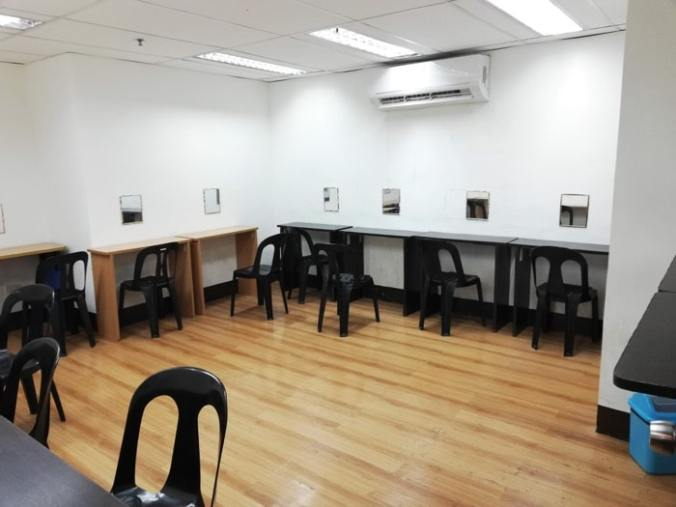 サウスピーク、オリジナル校、音読専用自習室②