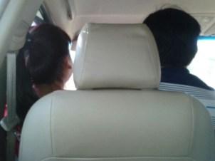 narrow seat