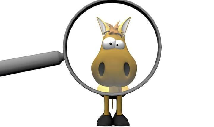 Az embereknek mindössze 3%-a találja meg a lovat a képen 5 másodpercen belül