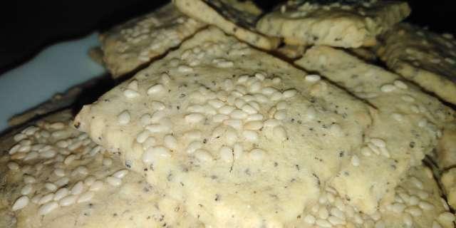 Szezámmagos-mákos kréker - Fenségesen ropogós és finom