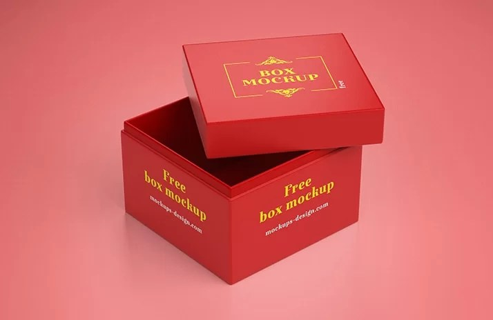 Download Gift Box - 3 Freebie PSD Mockups - FreeMockup.net