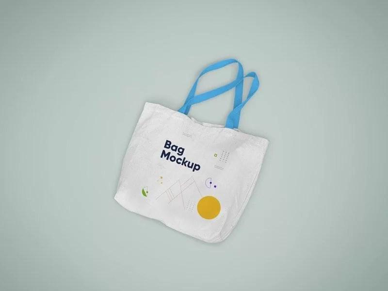 free canvas tote bag in hand mockup. Free Tote Bag Mockup Psd Freemockup Net
