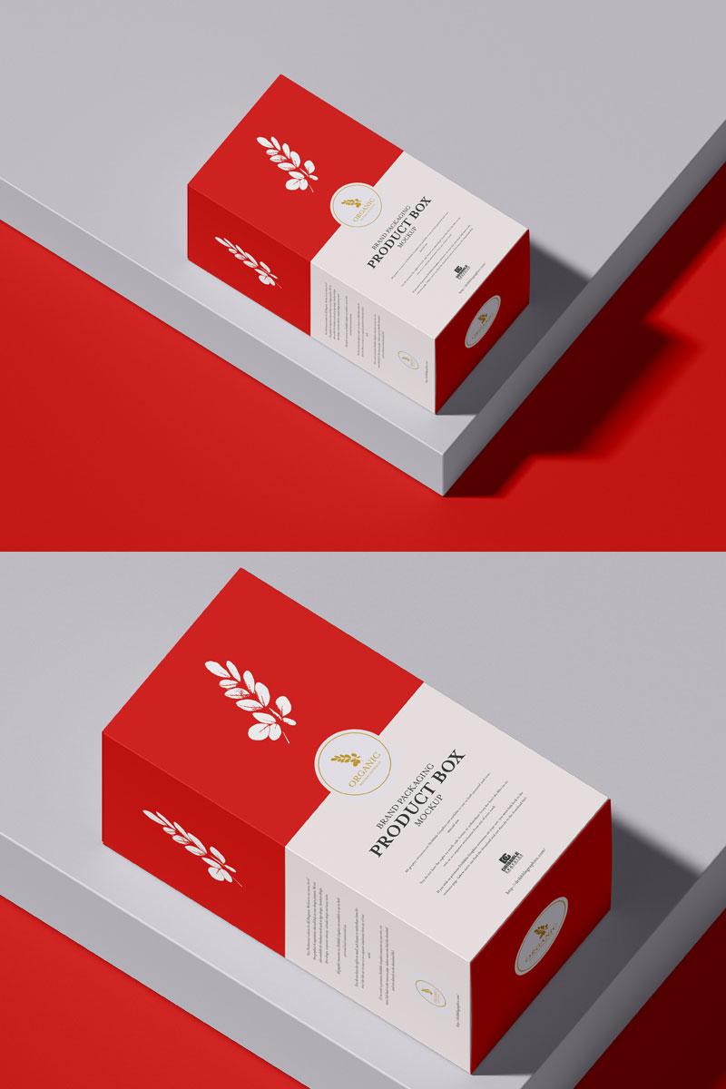 Download Free Premium Product Box Packaging Mockup PSD - Free ...