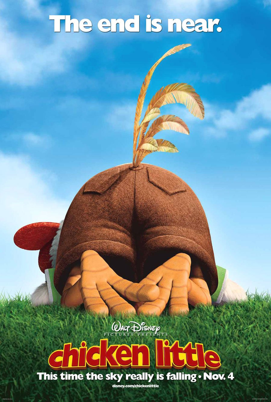 Image result for chicken little movie poster