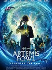 Artemis Fowl (2020) movie cover