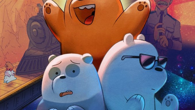 We Bare Bears: The Movie (2020) (Animation) (Movie cover)