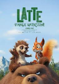 Latte & the Magic Waterstone (2019) (Animation) Movie Cover