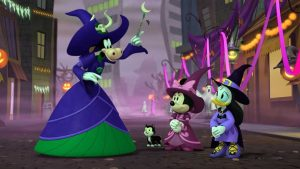 Mickey's Tale of Two Witches (2021) (Animation)