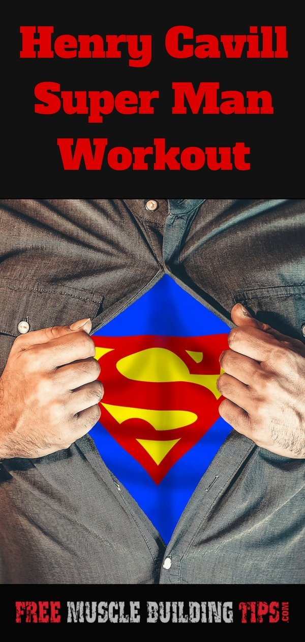 Henry Cavill Super Man Workout. #HenryCavill #SuperManWorkout