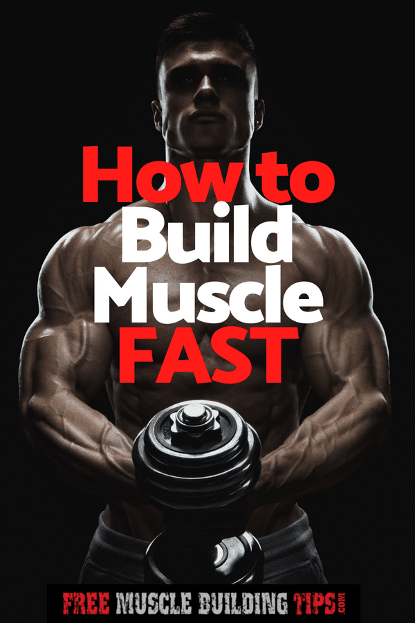 Want to build muscle faster? Check out these 9 tips to help you build muscle fast. #buildmuscle