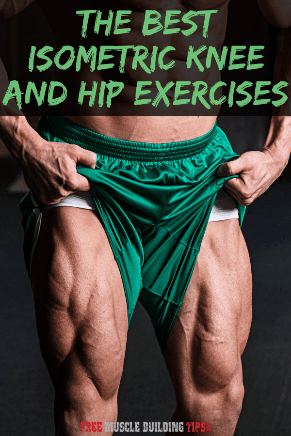 isometric knee exercises