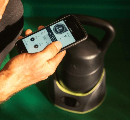 JAXJOX KettlebellConnect smart app