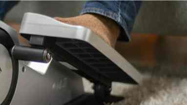under desk elliptical vs under desk bike