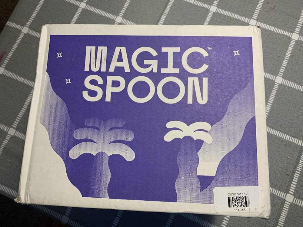 Magic Spoon cereal shipping box