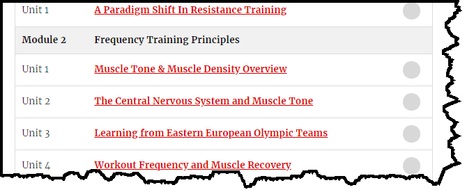 Eastern European Training Principles