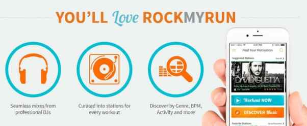 Benefits of using RockMyRun
