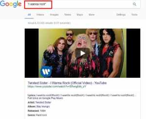 identify song name by google search