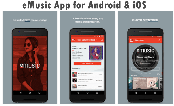 eMusic App Download for Android & iOS (Latest Version)