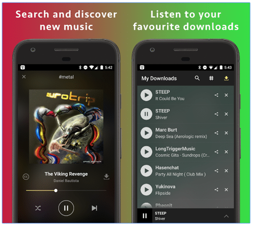 MP3 Music Download Hunter App for Android (Latest Version)