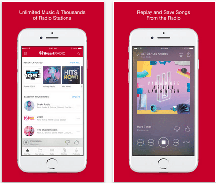 Download iHeartRadio app