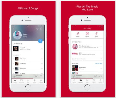 Features of iHeartRadio App