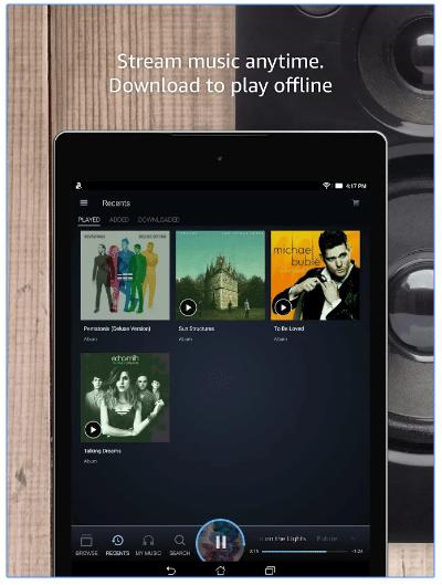 amazon music offline