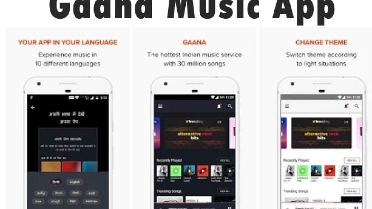 Download Gaana App APK ~ Free Gaana Music Downloader
