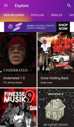 Features of Spinrilla App